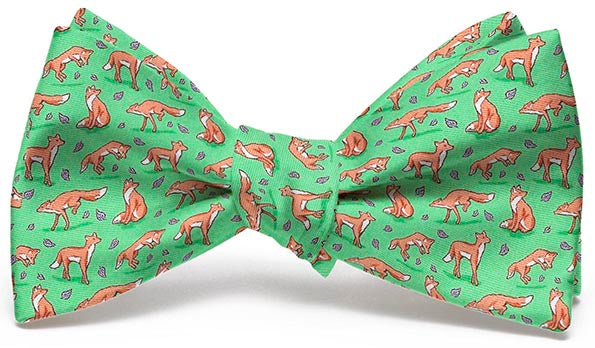 Out Foxed: Boys Bow Tie - Lime