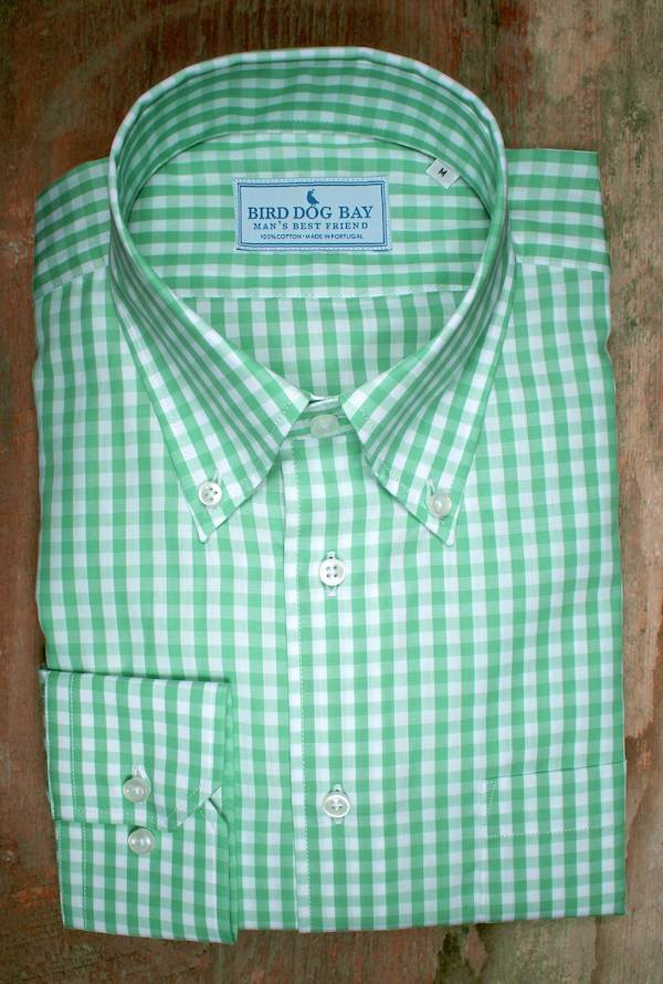 Hamilton: Button Down Shirt - Green
