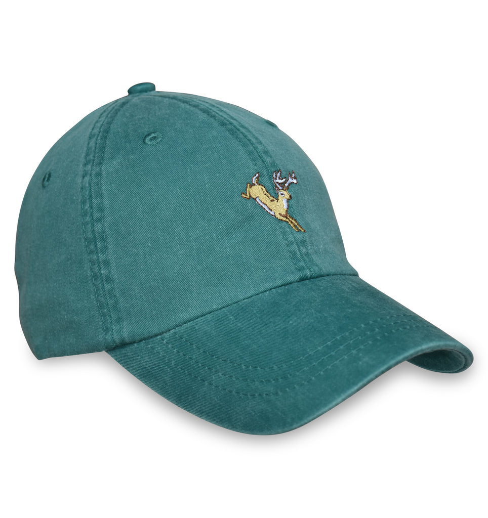 American Made Collared Greens Caps Green Made in the USA