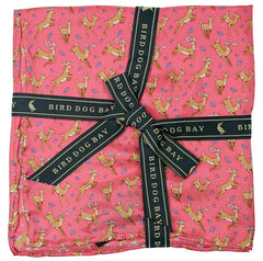 American Made Collared Greens Pocket Squares Pink Made in the USA
