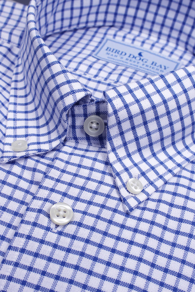 Sutherland: Button Down Shirt - Blue