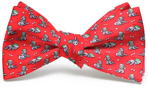 Santa Paws: Boys Bow Tie - Red