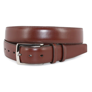 Italian Burnished Calfskin: Belt - Cognac