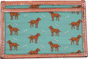 American Made Collared Greens Wallets Green Made in the USA