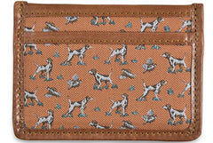 American Made Collared Greens Wallets Orange Made in the USA