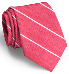 American Made Collared Greens Tie Red/White Made in the USA