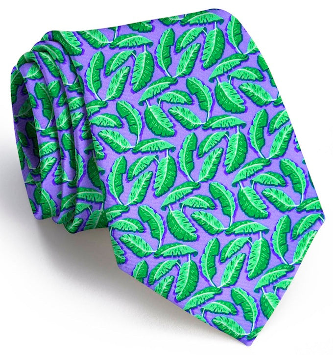 Palm Place: Boys Tie - Violet