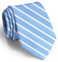American Made Collared Greens Tie Blue/White Made in the USA