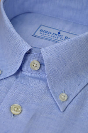 Montgomery: Linen/Cotton Blend Shirt