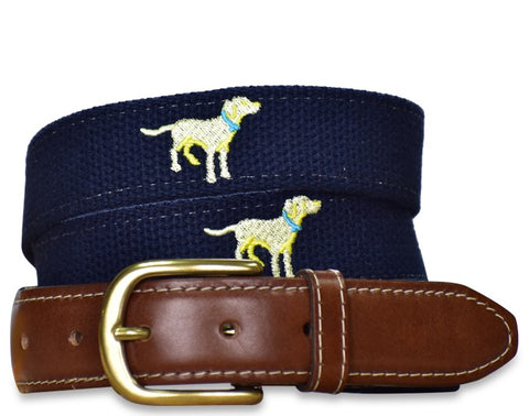 Paw Patrol: Embroidered Belt - Navy