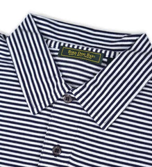 Haddon: Polo Shirt - Navy/White