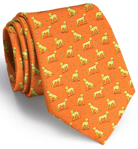 Lucky Labs: Tie - Orange