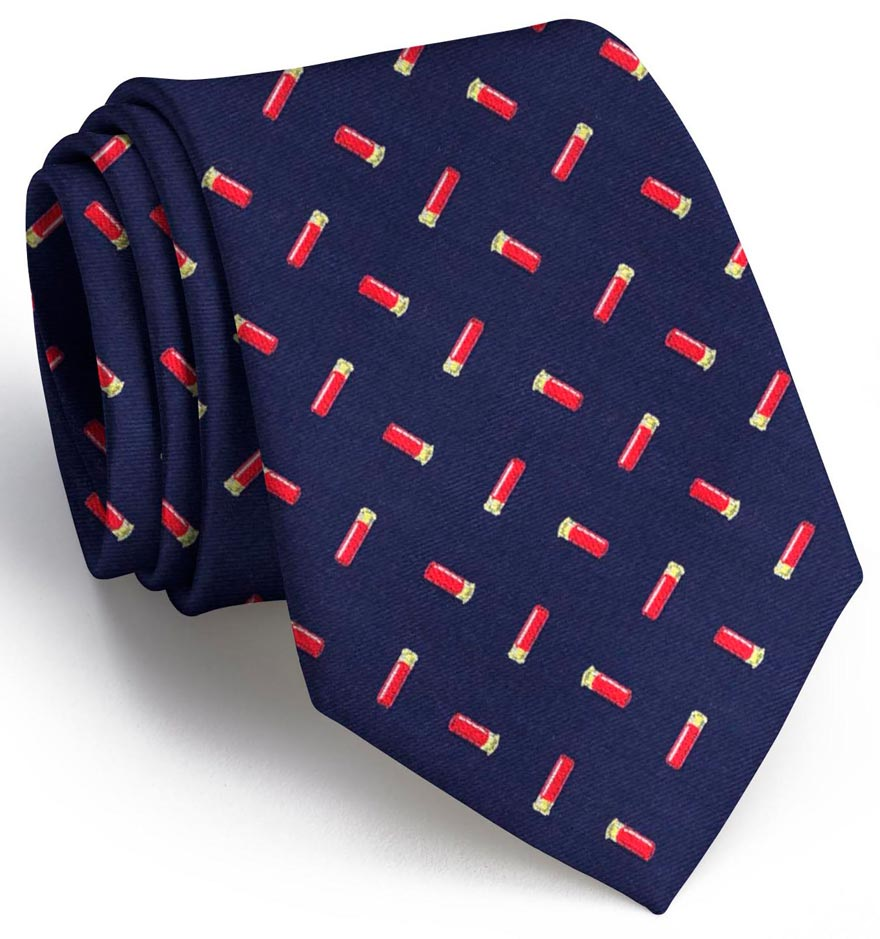 Shotgun Shells: Tie - Navy