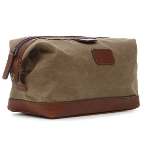 Ryder: Dopp Kit - Waxed Canvas