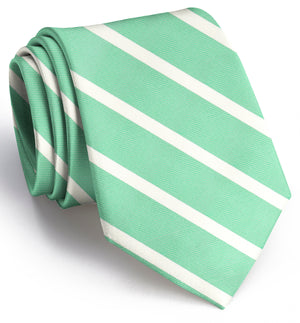 American Made Collared Greens Tie Mint Made in the USA