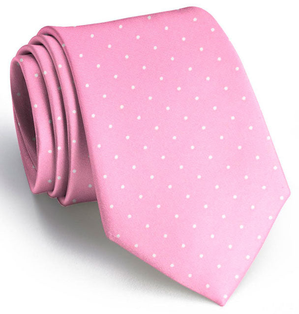 American Made Collared Greens Tie Pink Made in the USA
