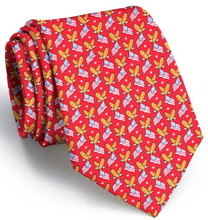 American Eagle: Tie - Red