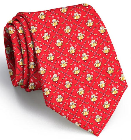 Bushwood Boogie: Boys Tie - Red