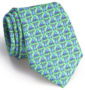 800 Pound Gorilla: Boys Tie - Mint