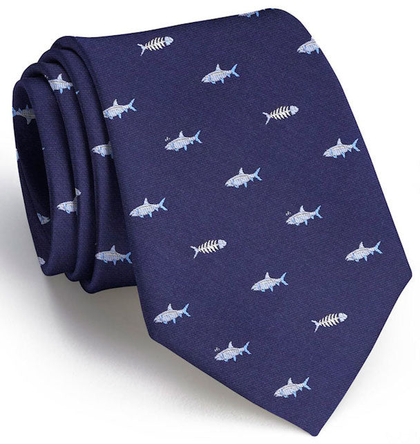Bonefish Club: Tie - Navy