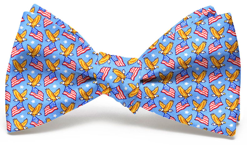 American Eagle: Bow Tie - Light Blue