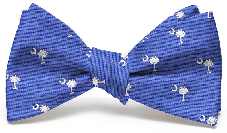 Palmetto Club: Bow Tie - Blue