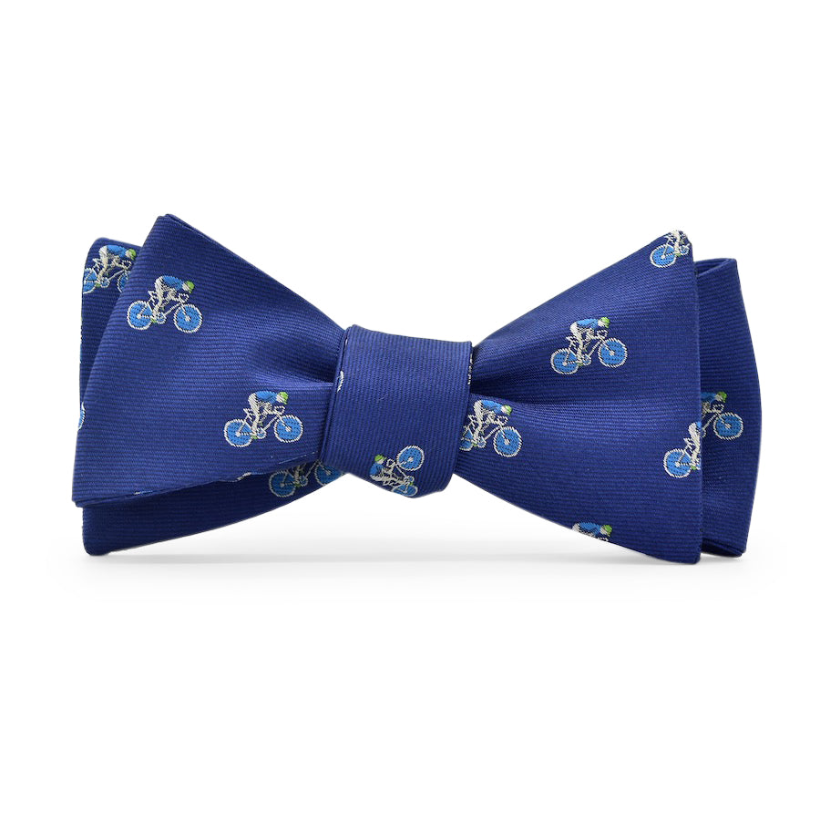 Bicyclist: Bow Tie - Navy