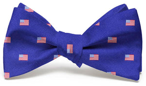 American Flag Club: Bow Tie - Navy