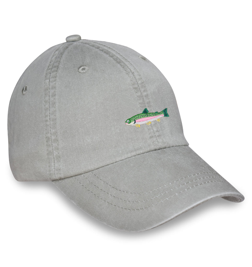 American Made Collared Greens Caps Gray Made in the USA