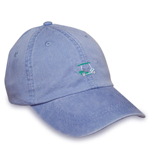 American Made Collared Greens Caps Blue Made in the USA
