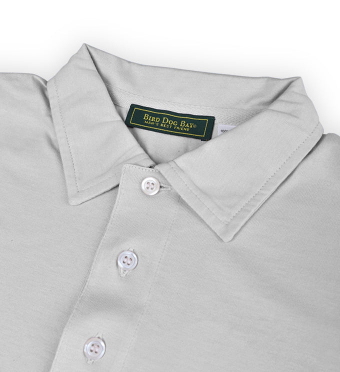 Fulton: Polo Shirt - Flint