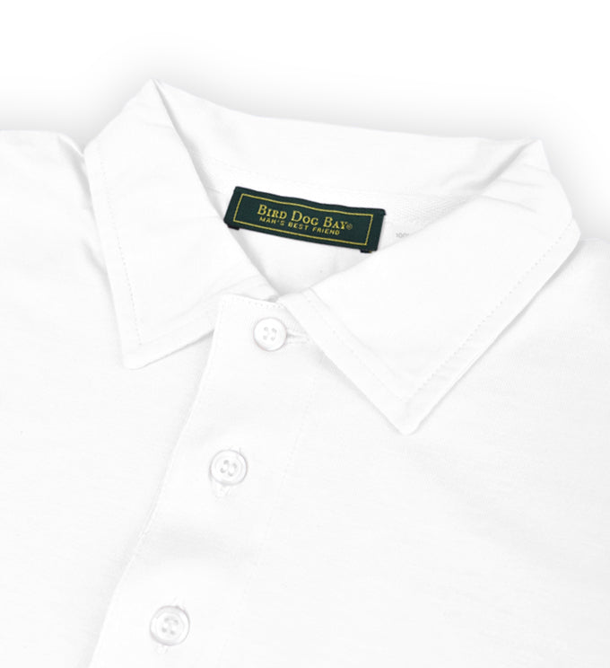 Fulton: Polo Shirt - White