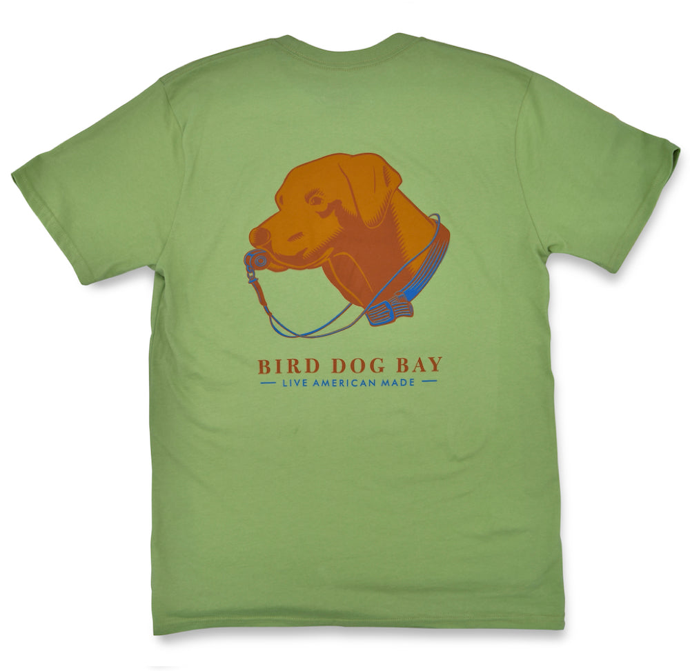 Lab Results: Short Sleeve T-Shirt - Chocolate Lab on Sage