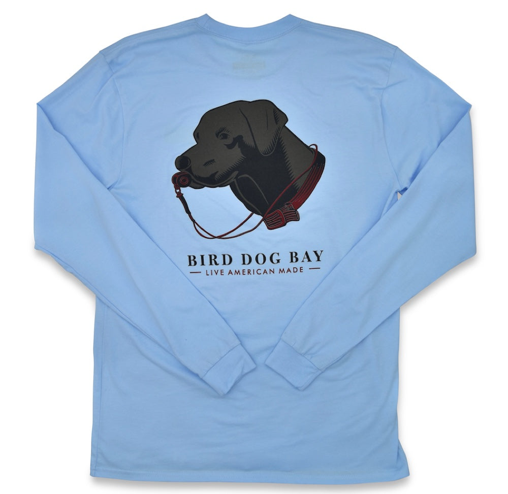 Lab Results: Long Sleeve T-Shirt - Black Lab on Carolina