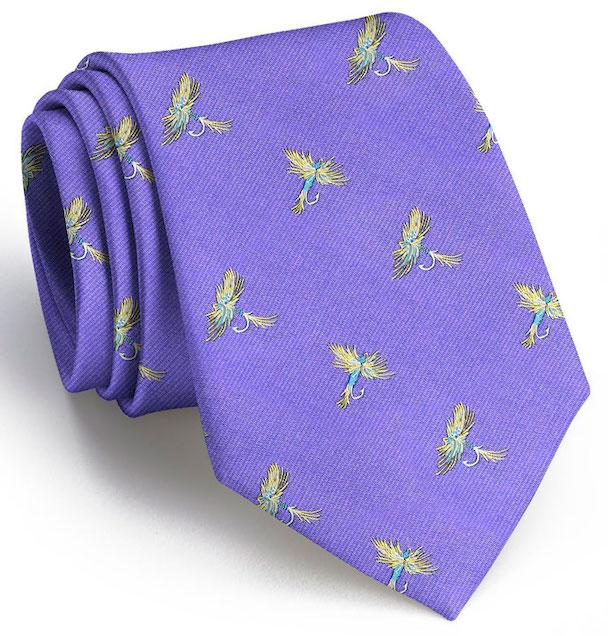 Royal Wulff Club Tie: Tie - Purple