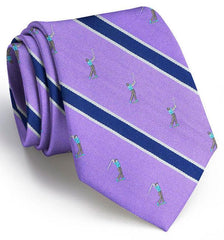 Big Swing Club Tie: Tie - Purple