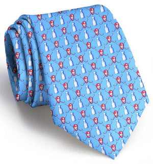 Stanley Puck: Tie - Light Blue