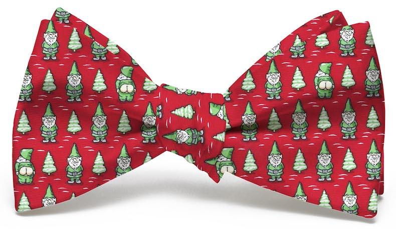 Cheeky Elves: Bow Tie - Red