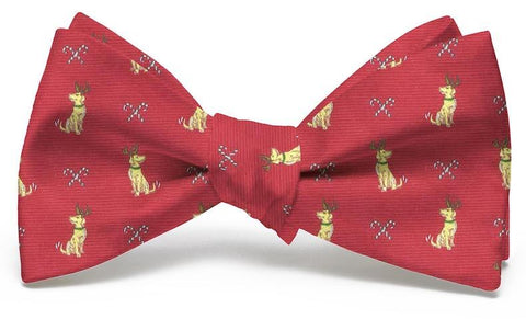 Santa's Helper Club: Bow Tie - Red