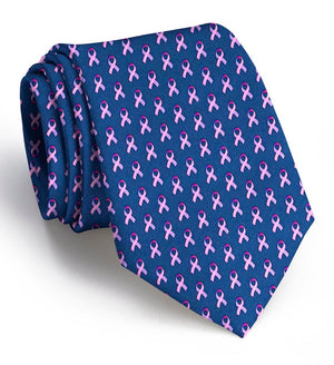 Care for a Cure: Tie - Navy