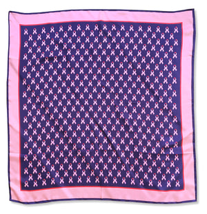 Care for a Cure: Women's Scarf - Navy