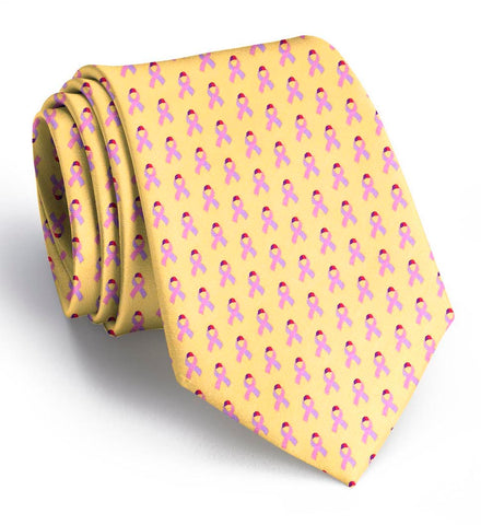 Care for a Cure: Tie - Yellow