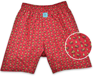 Randy Rudolph: Boxers - Red
