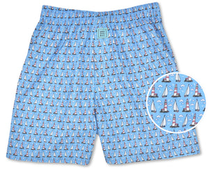 Welcome Ashore: Boxers - Light Blue