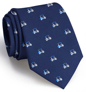 Golf Cart: Tie - Navy