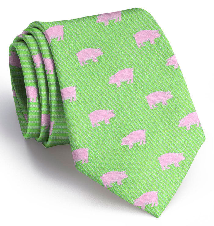 Pigs: Tie - Lime