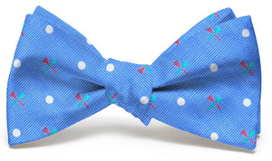 Tee Time: Bow Tie - Light Blue