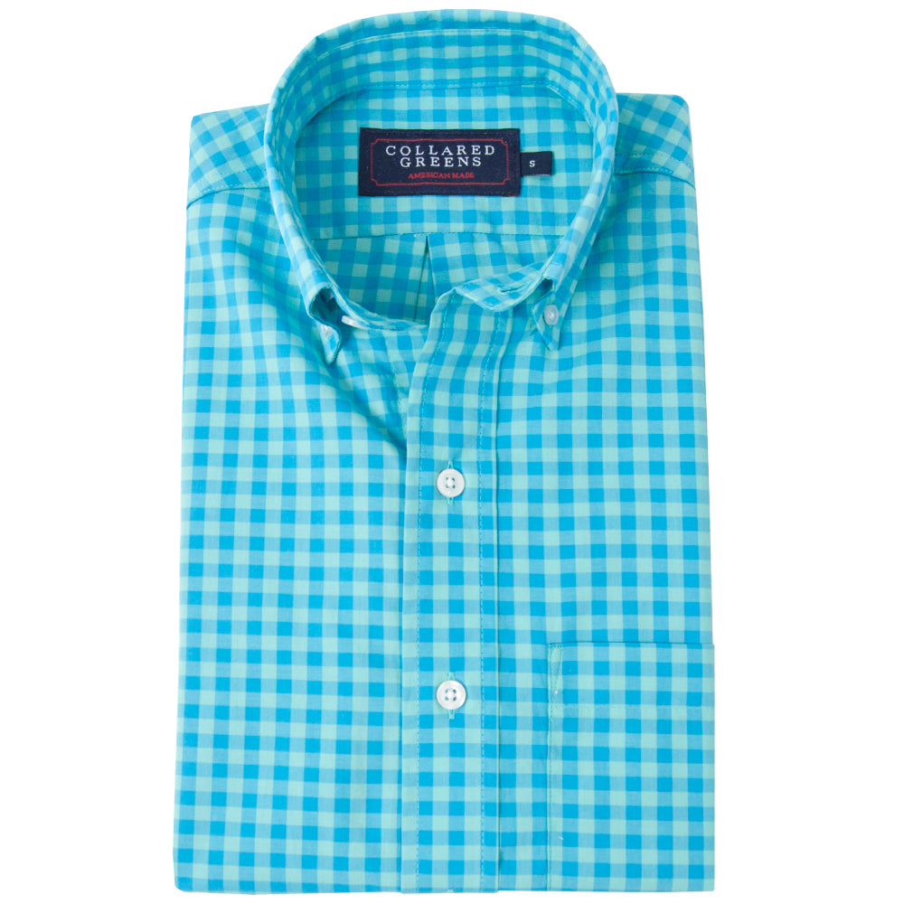 The Harbor Button Down Shirt - Collared Greens