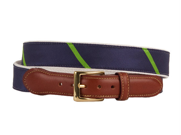 Damsel Navy Green Belt