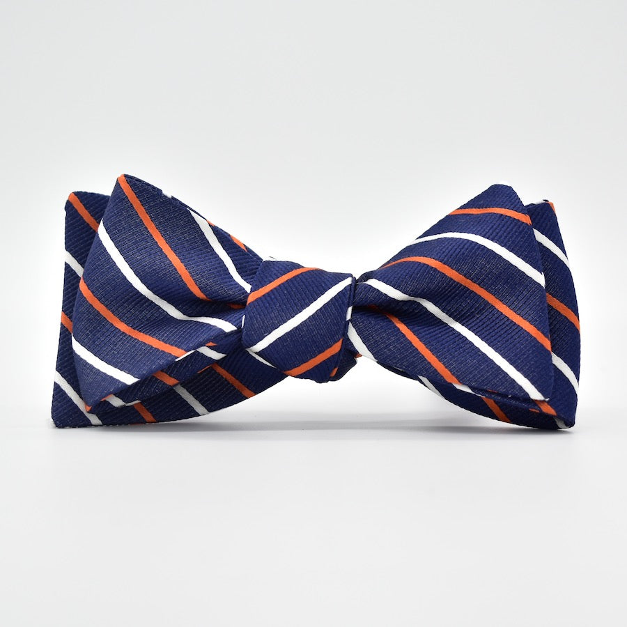 Lewis: Bow Tie - Navy/Orange